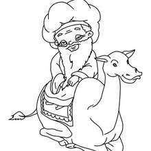 Small Picture Balthazars camel coloring pages Hellokidscom
