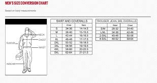 Dickies Shorts Size Chart Size Chart Dickies