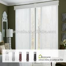 vertical blinds with sheer curtains.  With Bintronic Motors For Electric Vertical Blinds Motorized Sheer  Curtains With A