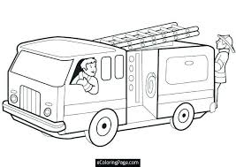 Semi Truck Coloring Pages Unique Coloring Fire Truck Coloring Book