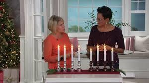 Bethlehem Lights Plug In Window Candles Bethlehem Lights S 4 Adjustable Plug In Window Candles On Qvc