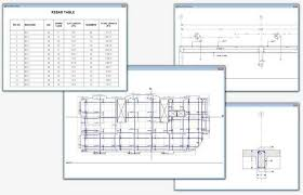 Rebar Design And Detailing Data Chart Features Concrete Slab And Foundation Design Safe