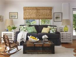 Living Room Decoration Accessories Chic And Cozy Living Room With Vintage Trunk And Nautical