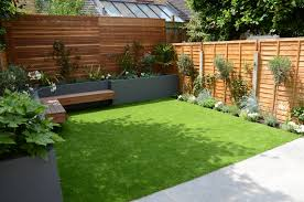 Small Picture small garden design fake grass low mainteance contempoary design