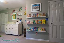 wall bookshelves for nursery stun room easy safe books shelves trends4us com home interior 15