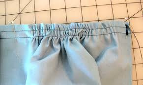Image result for fabric gathers