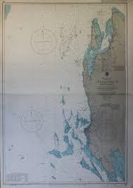 Three Nautical Charts Zanzibar East Coast Of Aden And Red