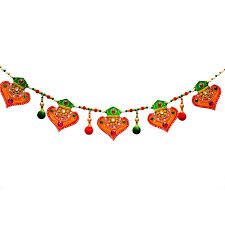 colorful bandarwal door hanging craft by artist e craft paper