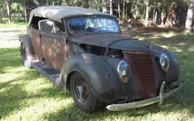Up For Sale Again: 1937 Ford Custom Phaeton - http://barnfinds.com ...