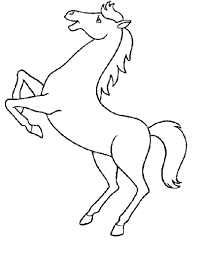 Cavalli Immagine Da Colorare N 10223 Cartoni Da Colorare