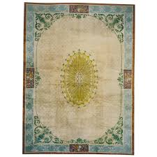 chinese art deco rug influenced by 18th century european architecture for