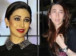 karishma kapoor without makeup without makeup top 10 bollywood actress