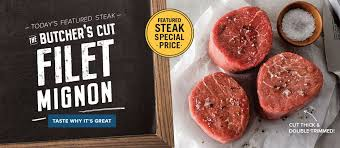 today s featured steak the butcher s cut filet mignon taste why it s great featured