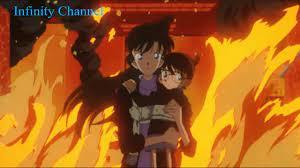 Ran cứu mạng Conan trong biển lửa - YouTube