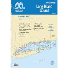 Maptech Waterproof Chartbook Long Island Sound Complete