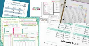 Budget Forms Pdf Dave Ramsey Printables To Help You Stay Motivated