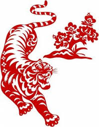 chinese tiger clipart. Exellent Chinese Lucky Tiger  Chinese Traditional Papercut  Tattoo Pinterest  Tiger Tigers And Art Clipart Throughout Chinese Tiger Clipart S