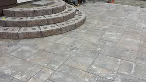 exellent patio how to install stone patio steps designs in build a g