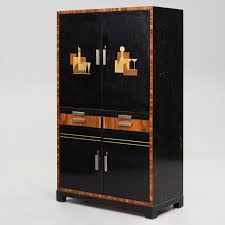 Sten Blomberg An Art Déco Bar Cabinet Executed By David