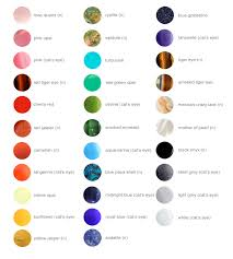 Semi Precious Stone Color Chart Gemstone Color Chart All Gemstones Are Either Natural