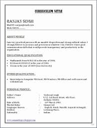 Resume Format Word Mesmerizing Resume Format For Job In Word File Download Gentileforda