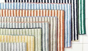 pottery barn bathroom rugs magnificent striped bath rug on stripe pottery barn pottery barn classic bath