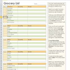 The Best Of Grocery List Templates To Help You Duyudu
