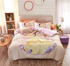 disney princess belle bedding set for kids girls teens 2 600x566 disney princess belle bedding