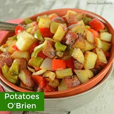 this is a traditional potatoes o brien recipe with one special ing to really