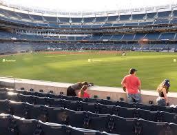 Yankees Seating Price Chart Yankee Stadium Field Level 103 Seat Views Seatgeek