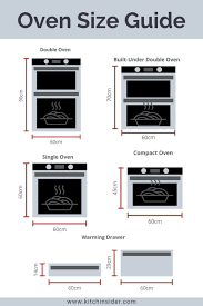 built in oven sizes the complete