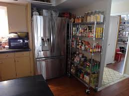 kitchen how to install pantry shelving for design chrome black 5 shelf steel wire