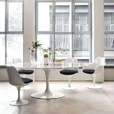 gorgeous replica eero saarinen tulip dining table oval marble knock saarinen oval dining table knock off