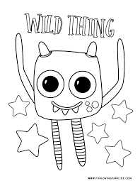 If yes, then this collection of coloring pages is just for you. Monster Coloring Pages 4 Cute And Silly Monsters For Kids Free Printables Fun Loving Families