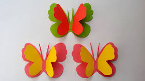 How To Make Easy Simple Butterfly With Colour Paper