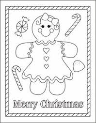 Free Coloring Sheets Fun Pages Christmas Gingerbread Man 8 Noscaorg