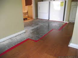 water damaged laminate flooring remove transitions and quarter round first