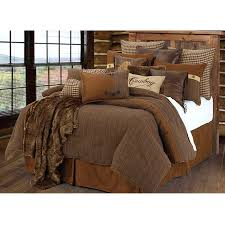 brown log cabin bedding clearance