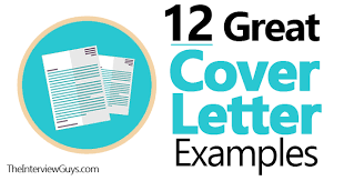 12 Great Cover Letter Examples For 2018