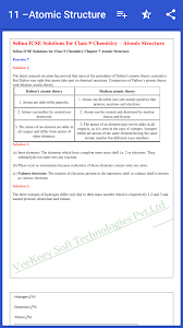 icse class 9 chemistry solution selina publisher 1 0 screenshot 6