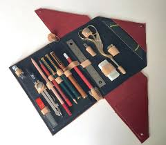 picture of no sew leather pencil case