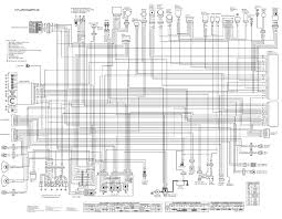 motorcycle manuals kawasaki er650 er6n er 650 electrical wiring harness diagram schematic