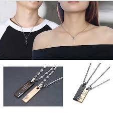 couple cross necklaces cross jewelry