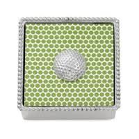 mariposa beaded napkin holder golf ball weight