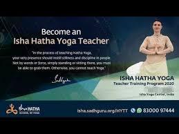 isha hatha yoga teacher training 2021