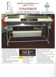 The Vinotron - Wallpaper Gluing Machine