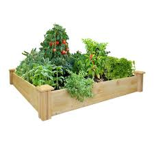Plants For Kitchen Garden Raised Garden Beds Garden Center Outdoors The Home Depot