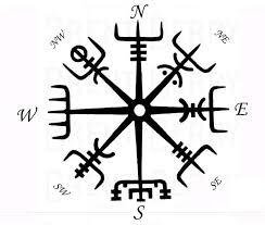Vikings Compass Vegvisir More Art