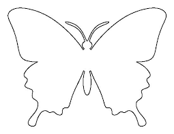 Butterfly Cutouts Template Pin By Muse Printables On Printable Patterns At Patternuniverse Com