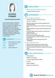 Resume Template For Medical Research Assistant Fresh Impressive